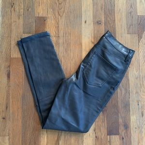 BDG faux leather skinny pants 27